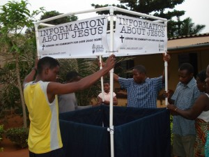 Togo Jesus Booth